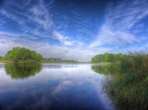 jezioro w lebehn