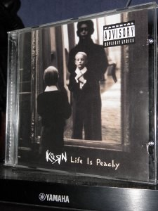 korn life is peachy