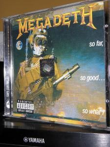 megadeth so far so good so what